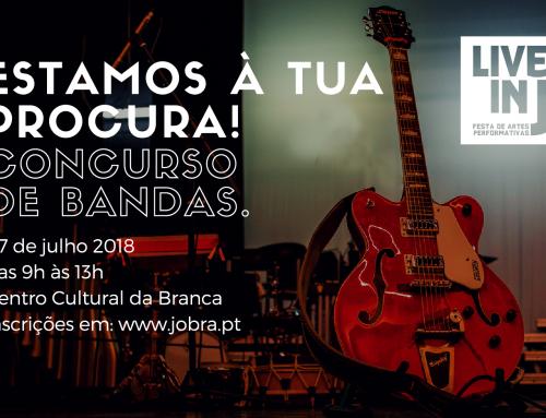 """Concurso de Bandas """"Live in J 2018"""""""