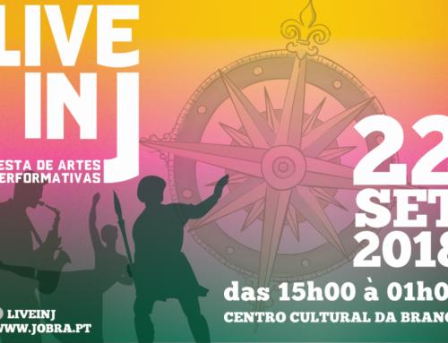 LIVE IN J apresenta non-stop de Artes Performativas sobre a EXPO 98