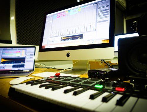 Aula aberta de Produção Áudio