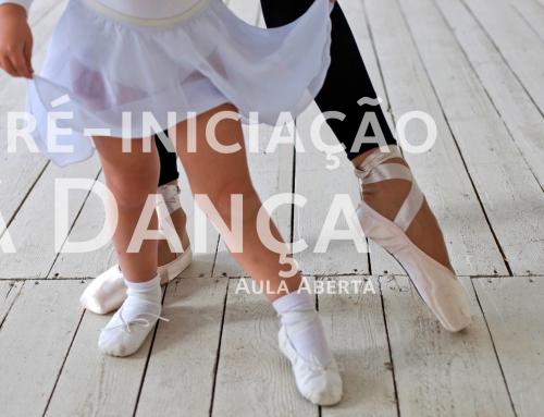 Aula Aberta de Pré-iniciação à Dança