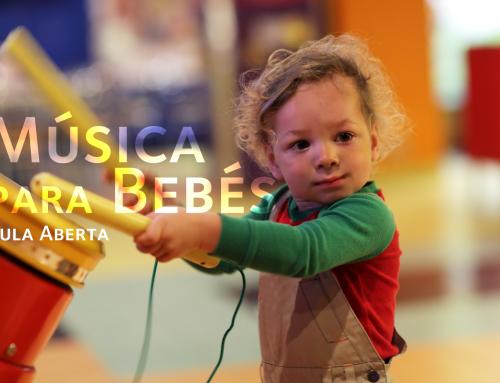 Aula Aberta de Música para Bebés